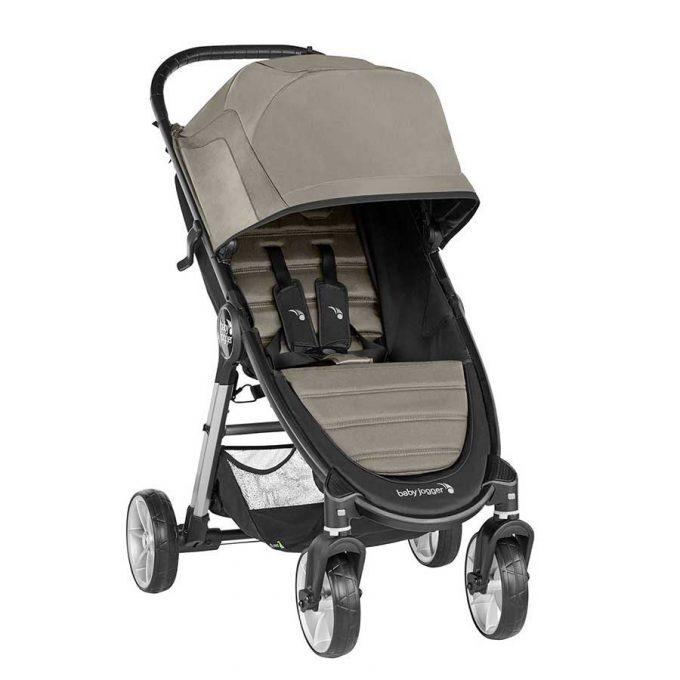 Passeggino City Mini2 4 ruote Sepia