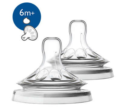 2 Tettarelle Natural per Liquidi Densi (Fessura a Y) Philips EAN: 8710103874119