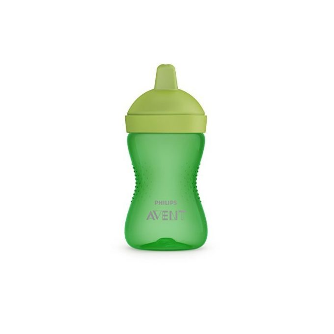 Tazza My Grippy con beccuccio rigido (300ml) - Verde -EAN: 8710103855514